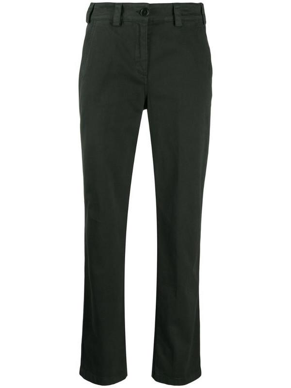 Aspesi straight-leg trousers in green