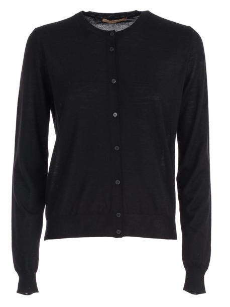 Nuur Sweater Korean Neck in black