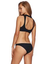swimwear,black bikini,beach bunny swimwear,black bikini bottoms