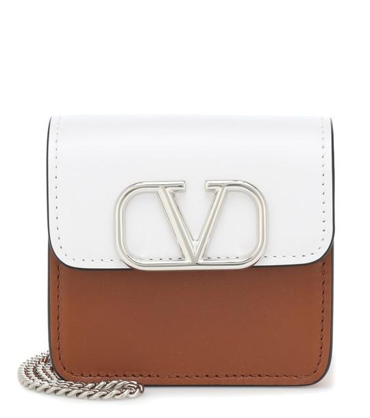 Valentino Garavani VSLING leather clutch