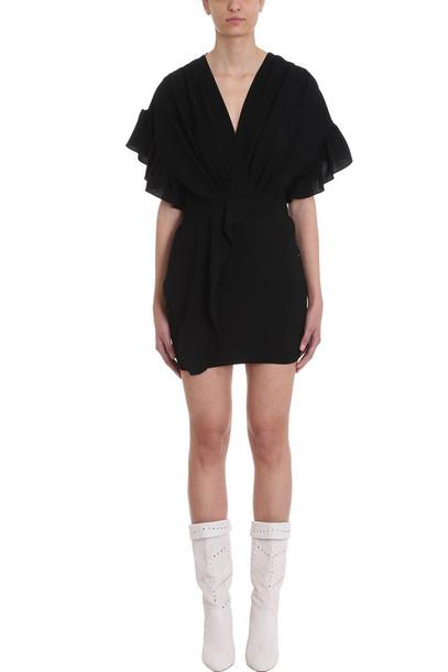 IRO Cedar Black Cr?pe Dress