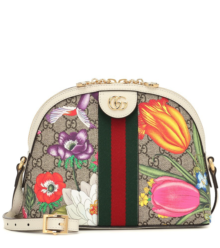 Gucci Exclusive to Mytheresa – Ophidia GG shoulder bag in beige
