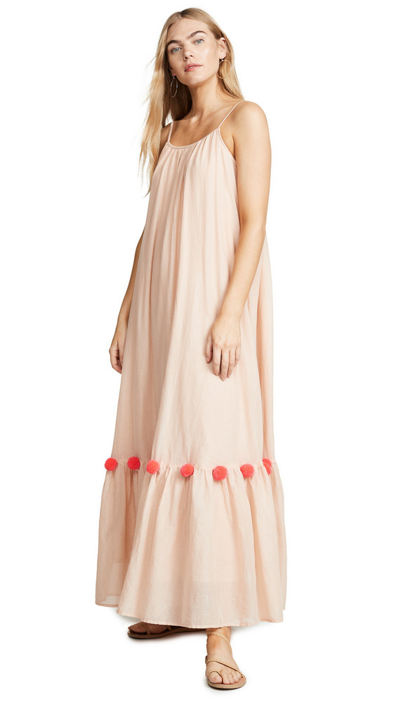 SUNDRESS Cleo Dress in coral