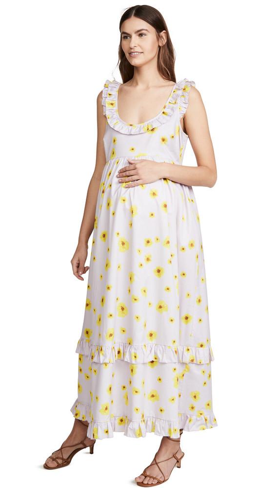 HATCH The Rafaela Dress in lilac
