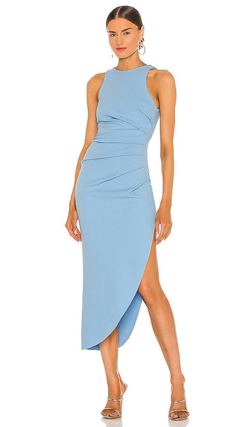 Misha Collection X REVOLVE Ida Dress in Baby Blue