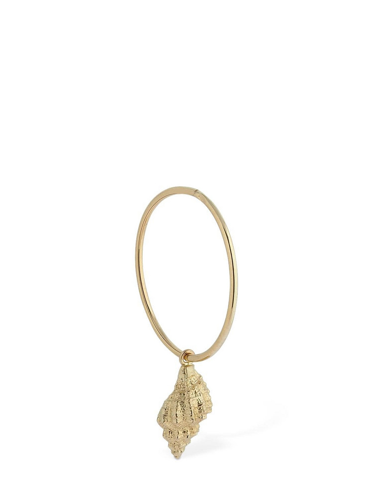 Lil Hoop Big Christina Mono Earring in gold