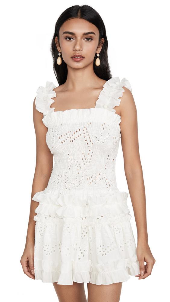 Waimari Alfresco Dress in white