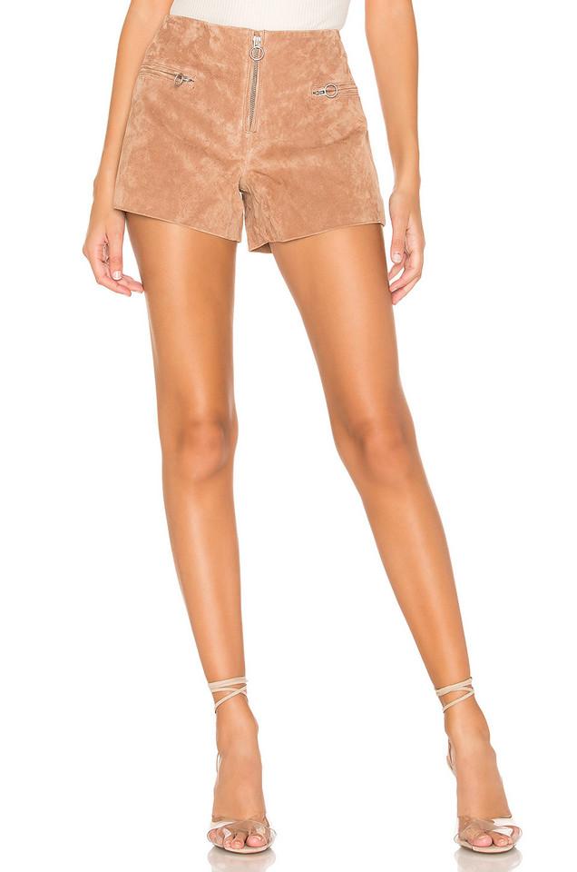BLANKNYC Suede Short in brown