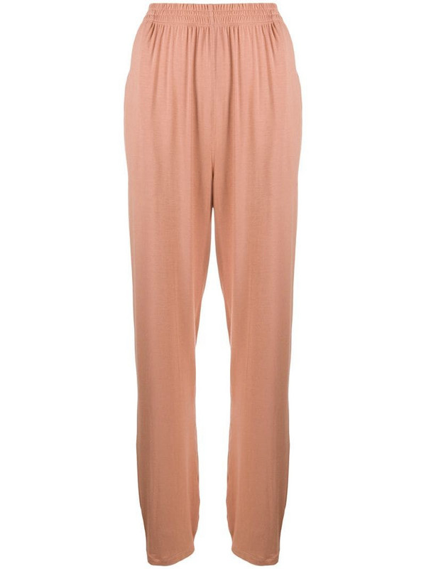 Styland lightweight jersey trousers in pink