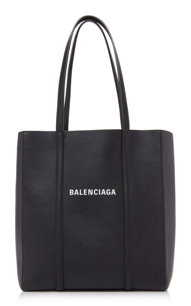 Balenciaga Everyday Leather Tote in black