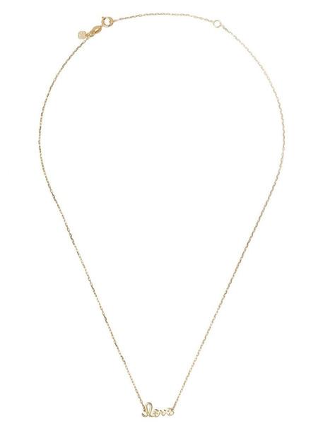 Sydney Evan 14kt yellow gold love necklace