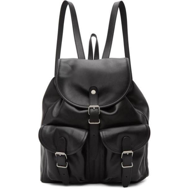 Saint Laurent Black Venice Backpack