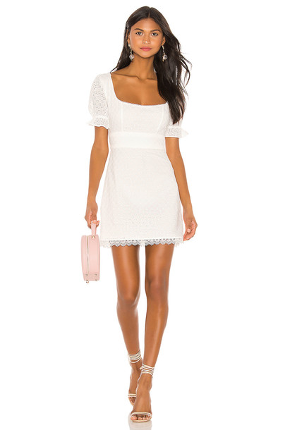 Lovers + Friends Rickie Dress in white