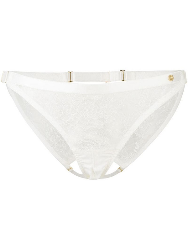 Something Wicked lace briefs in white