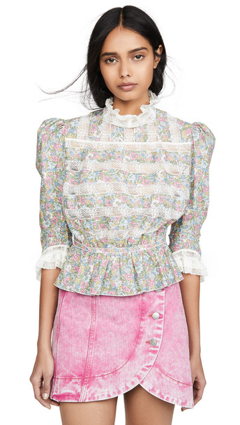 The Marc Jacobs The Victorian Blouse in multi