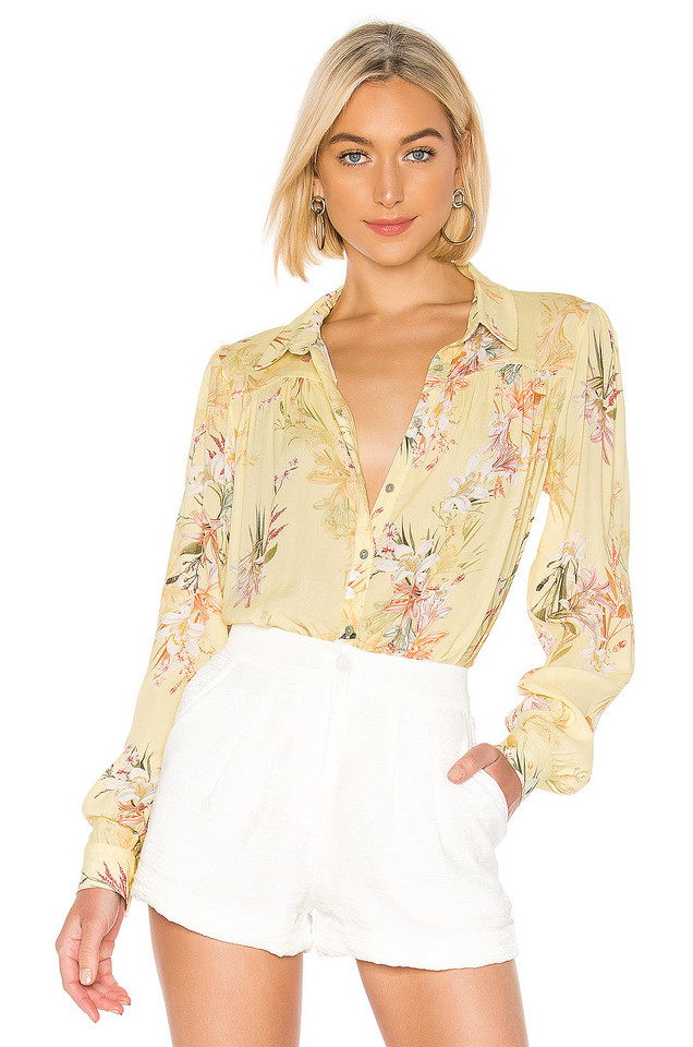 RAVN Ai Blouse in yellow