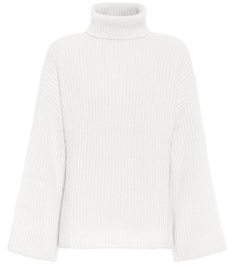 Jardin des Orangers Exclusive to Mytheresa – ribbed cashmere sweater in white