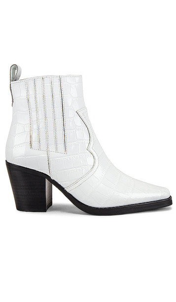 Tony Bianco Gloss Bootie in White
