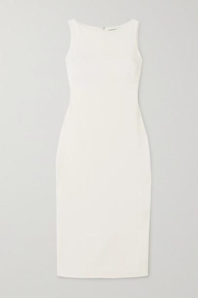 Brandon Maxwell - Crepe Midi Dress - Ivory