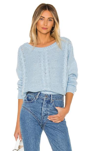 L'Academie Aruba Sweater in Baby Blue