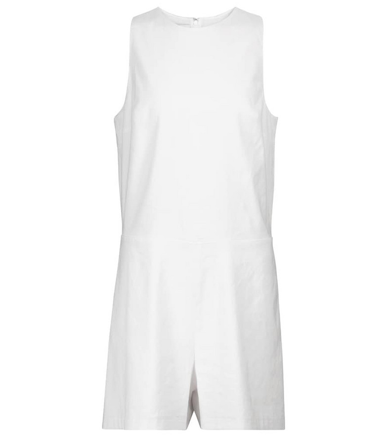 Vince Linen playsuit in white