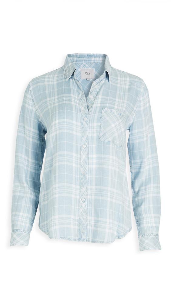 RAILS Hunter Button Down Shirt in white