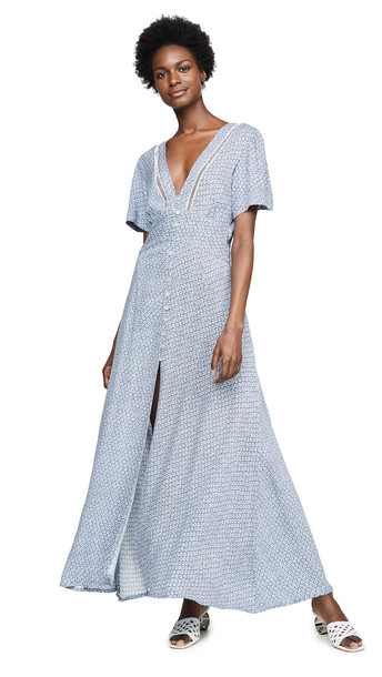 Cleobella Valentina Dress in blue