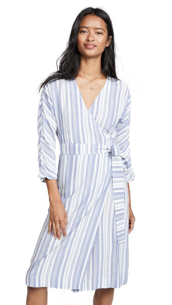 Heartmade Hirsa Dress in blue / white