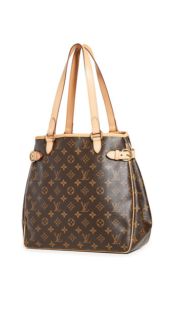 What Goes Around Comes Around LV Mono Vertical Bag in brown