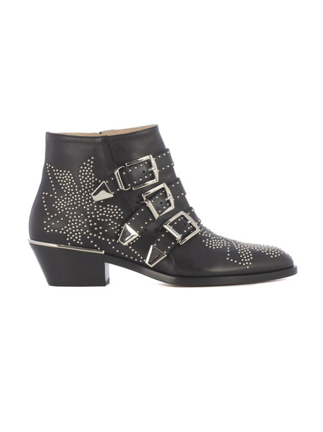 Chloé Chloé Susanna Ankle Boots in black / silver