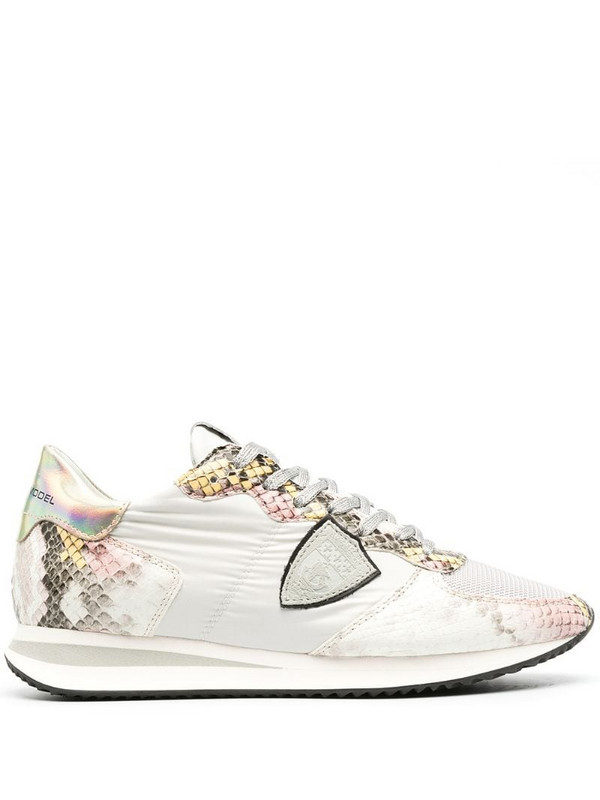 Philippe Model Paris Trpx Animalier low-top sneakers in white