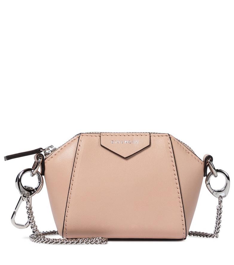 Givenchy Antigona Baby leather crossbody bag in pink