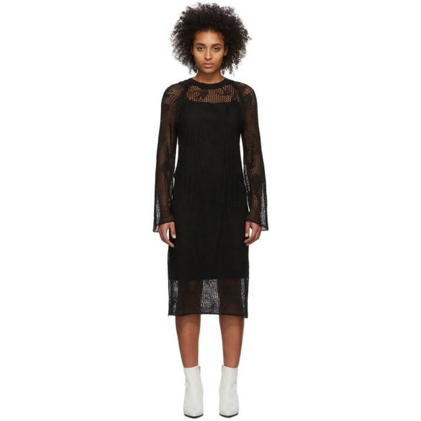 McQ Alexander McQueen Black Unoko Dress