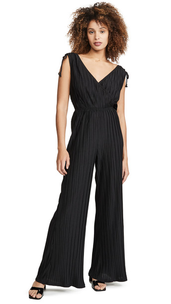 cupcakes and cashmere Ibiza Jumpsuit in black