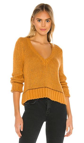 Tularosa Ohara Sweater in Burnt Orange