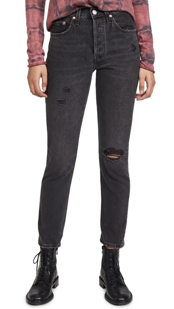 Levi's 501 Skinny Jeans in black
