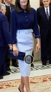 skirt,hugo boss,light blue,pencil skirt
