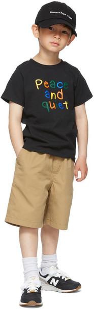 Museum of Peace & Quiet SSENSE Exclusive Kids Black Scribble Little Kids T-Shirt