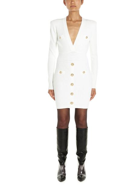 Balmain Dress in white