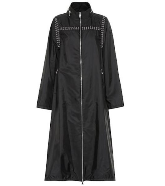 Moncler Genius 6 MONCLER NOIR KEI NINOMIYA nylon coat in black