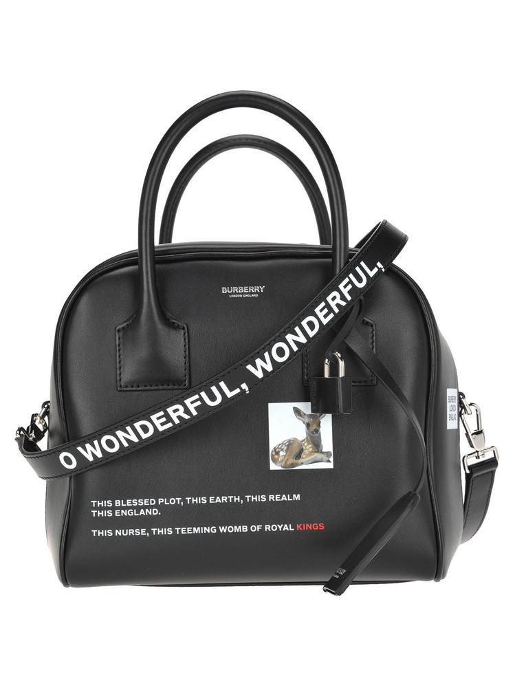 Burberry London Burberry Small Bowling Bag in black
