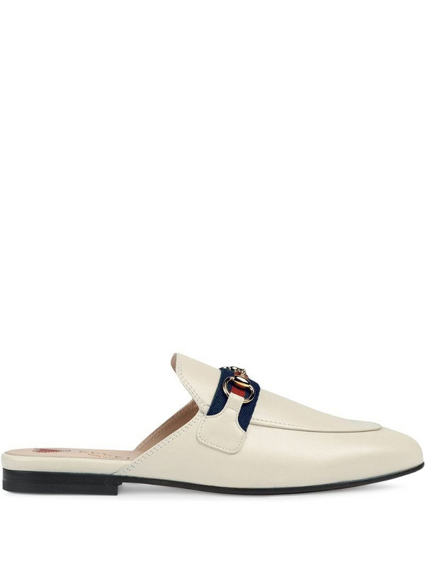 Gucci Princetown slippers in white