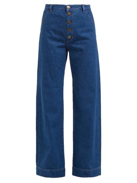 M.i.h Jeans - Paradise Wide Leg Jeans - Womens - Denim