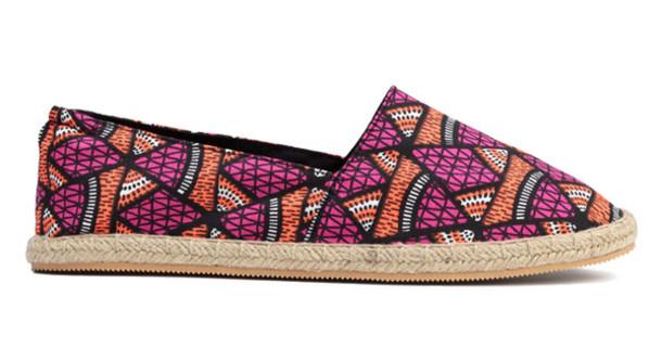 shoes african print espadrilles