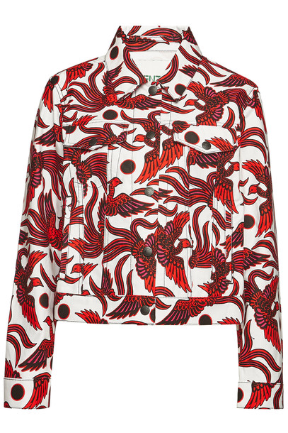 Kenzo Printed Cotton Jacket