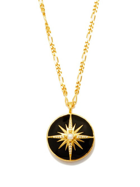 Missoma X Harris Reed - Locket Pearl & 18kt Recycled Gold-plated Necklace - Womens - Gold