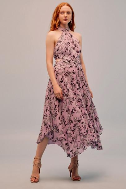 KEEPSAKE LUSCIOUS DRESS lilac floral