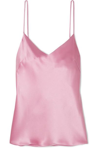 Galvan - Satin Camisole - Pink