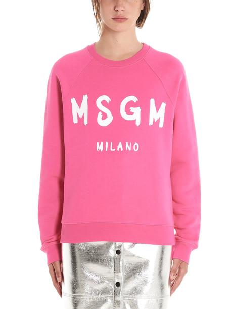 Msgm Sweatshirt in pink