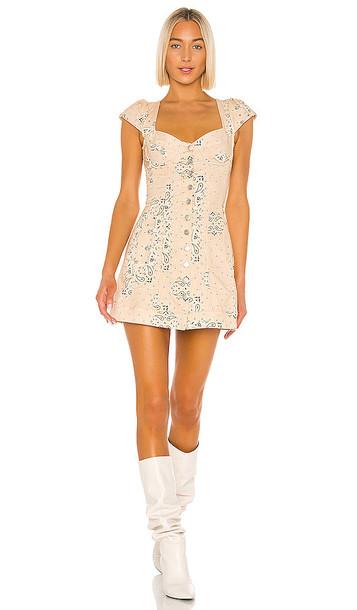 Miaou Gigi Dress in Cream
